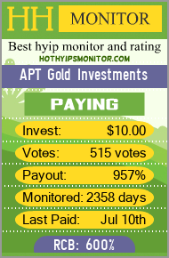hothyipsmonitor.com - hyip apt gold investments
