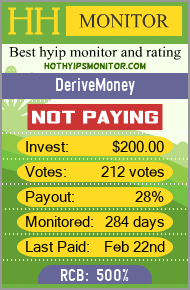 hothyipsmonitor.com - hyip derive money